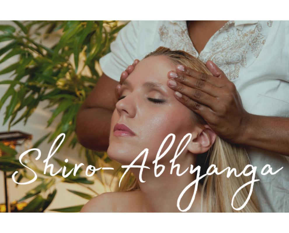 SHIRO-ABHYANGA soin ayurvédique de la tête à l'huile chaude