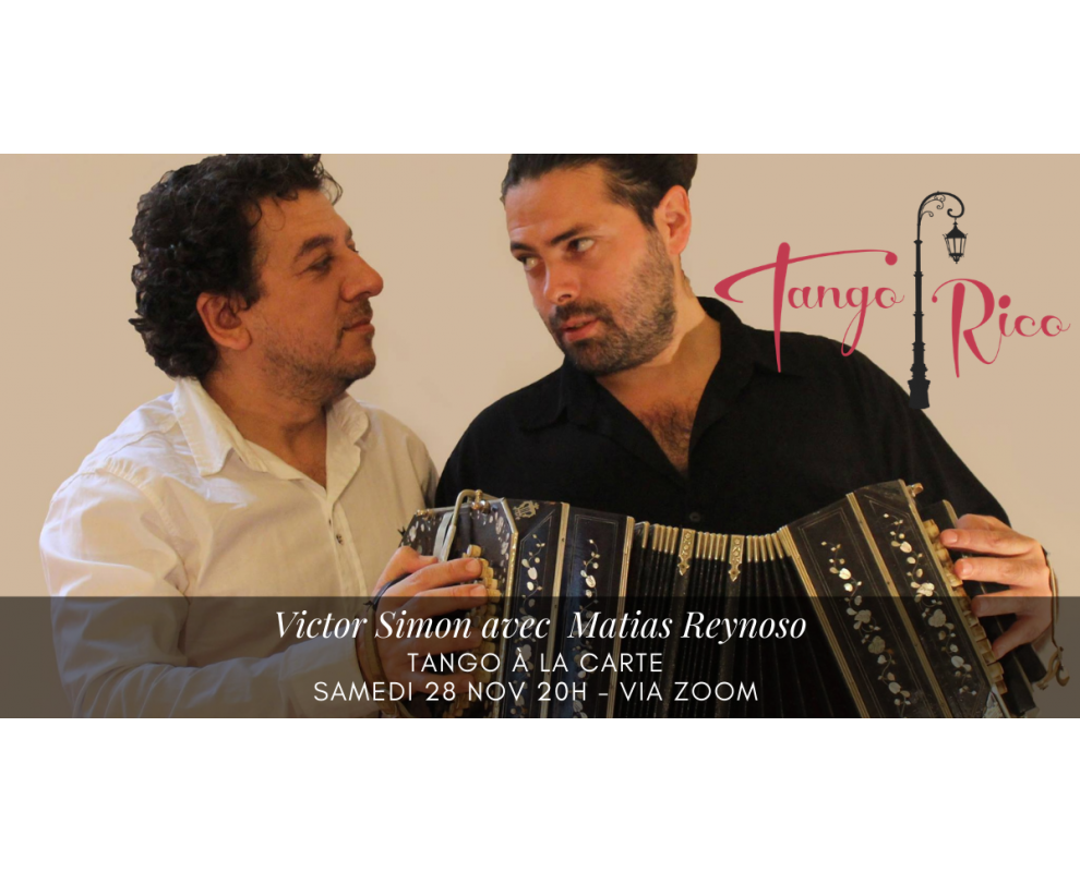 Tango à la carte avec Victor Simon et Matias Reynoso