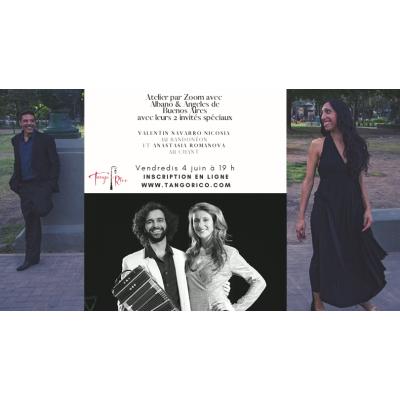 Atelier d'interprétation musical avec Albano et Angeles et leurs 2 invités spéciaux!